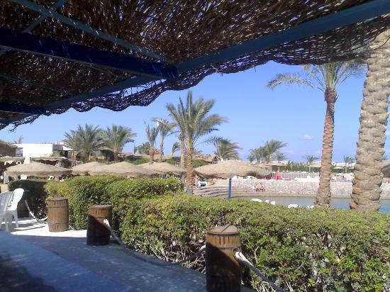Sultan Beach Hotel: View from beach bar