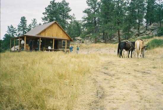Runamuk Guest Ranch Restored Homestead Cabin