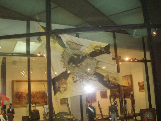 Borodino Battle Museum Panorama : Russian Banners