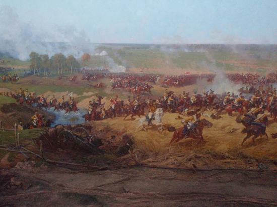 Borodino Battle Museum Panorama : Part of Panorama