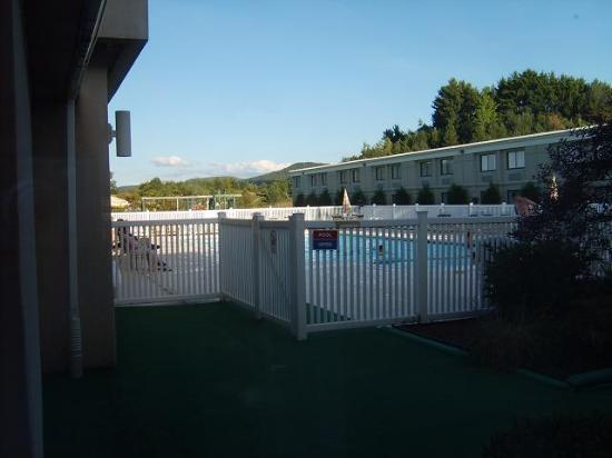 Holiday Inn Oneonta: The pool