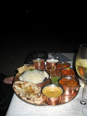 The Oberoi, Mauritius: Curry - yummy