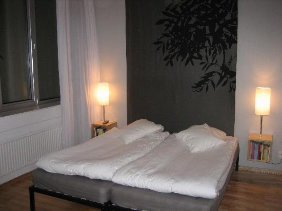 Mornington Hotel Stockholm Bromma: Chambre tout pareil que sur le site