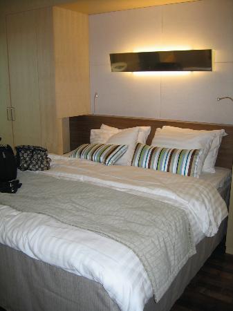 Hilton Helsinki Airport: Comfy beds