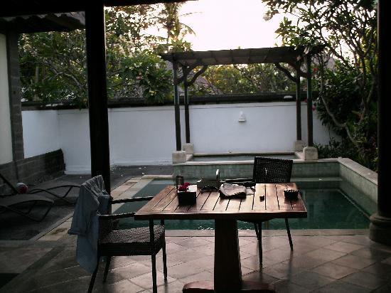 เดอะซามายา บาหลี: Villa Pool & Jacuzzi View