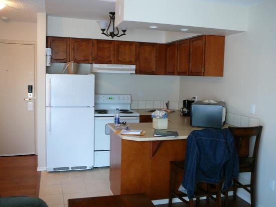 Heron's Landing Hotel: Kitchen