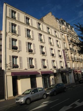 Villa Lutece Port Royal: Fachada del Hotel