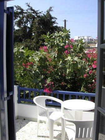 Hotel Sourmeli Garden: Vista del terrazzo