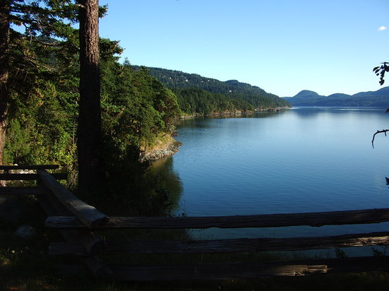 Orcas Island, Etat de Washington : View from Inn 2