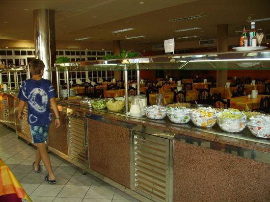 Sun Club Aguila Playa: in the restaurant
