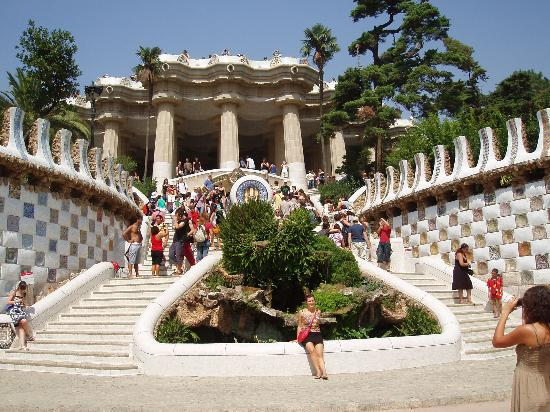 parc guell barcelone barcelona