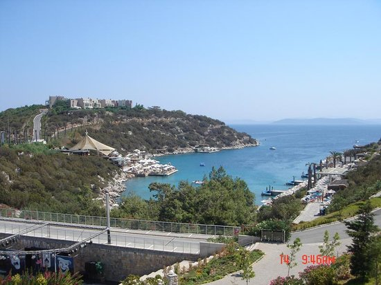 Hotel Karia Princess: our view