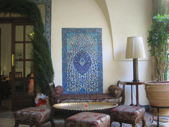 The American Colony Hotel: Mosaics at the Colony