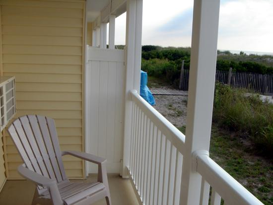 Ship Bottom, NJ: Ocean Front Balcony