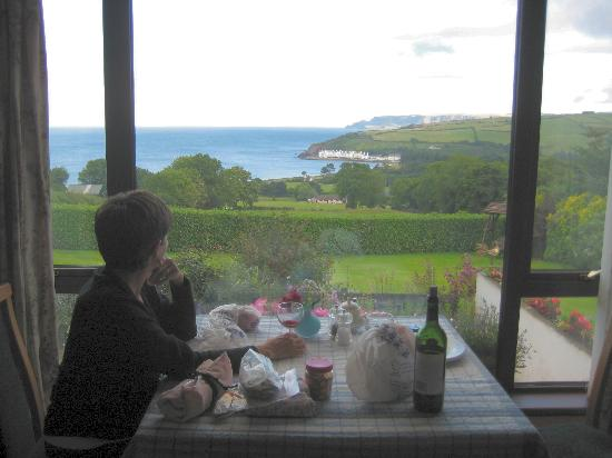 The Barnhouse: Dining with a view!