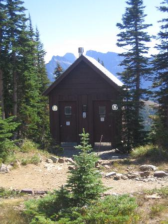Granite Park Chalet: The composting toilets