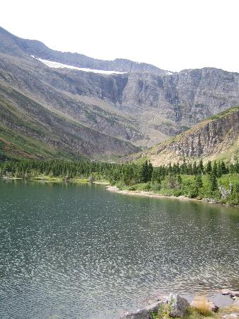 Granite Park Chalet: Bullhorn Lake, off the Swiftcurrent Trail