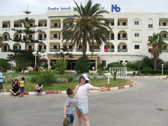 Hotel Royal Nozha : front of hotel