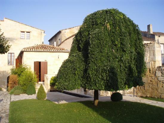 Hotel Au Logis des Remparts : Garten vor dem Zimmer