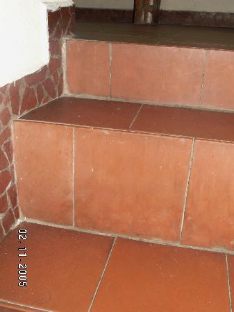 Agroturismo Cabanas Montes Los Tatuyes : Detalle de escaleras