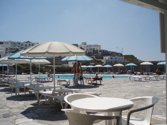 Mykonos Bay Hotel: Piscine