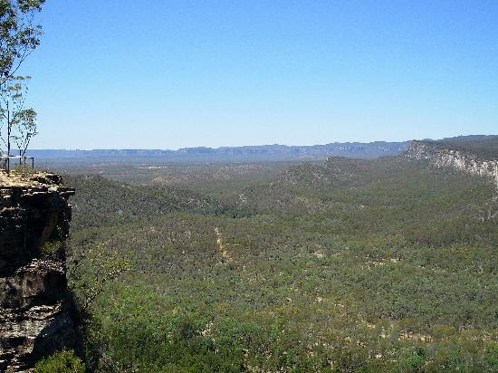 Carnarvon National Park, Australia: View from Boolimba Bluff