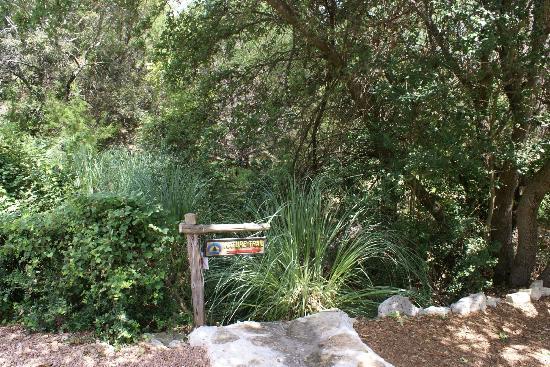 Omni Barton Creek Resort & Spa: Entrance to Nature Walk