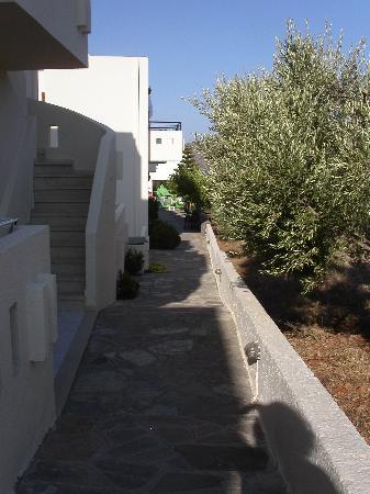Manos Apartments: To give a rough idea of