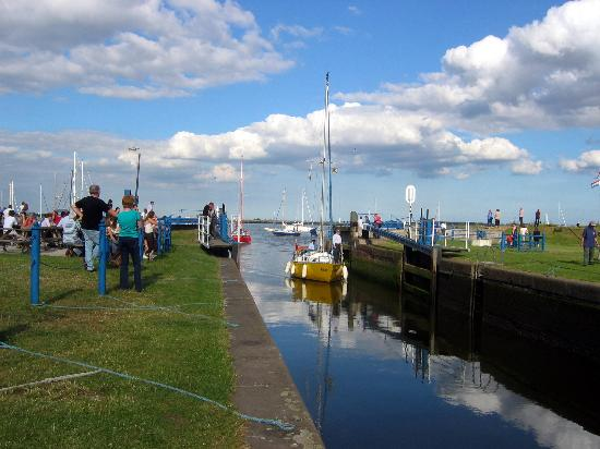 ‪‪Essex‬, UK: Heybridge Basin, nr Maldon, Essex.‬