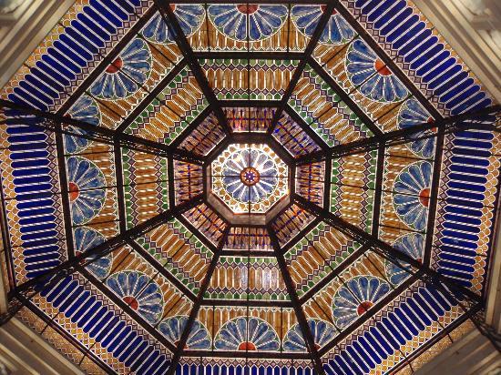Argosy Casino Hotel & Spa Kansas City: beautiful dome as you enter the casino