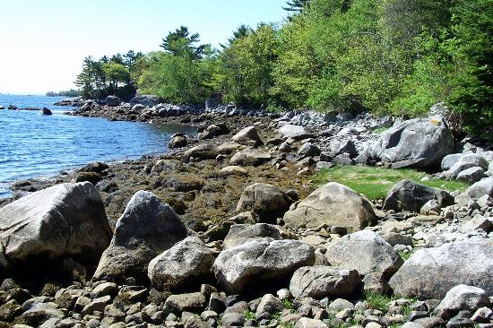 Boulder Cove Cottages: The boulder beach