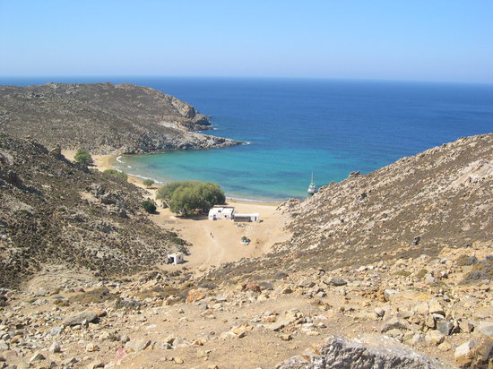 Patmos, Greece: psili ammos