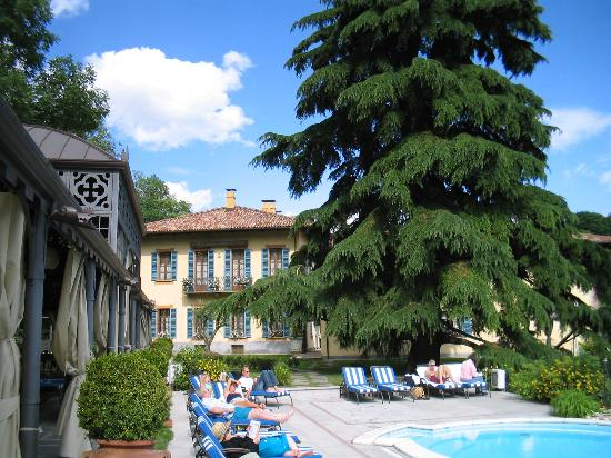 Hotel Villa Beccaris: View from the pool