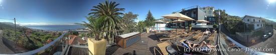 Quinta Mirabela: Panorama view at the pool