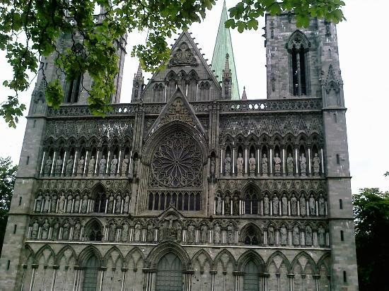 Thon Hotel Prinsen: Trondheim Cathedral