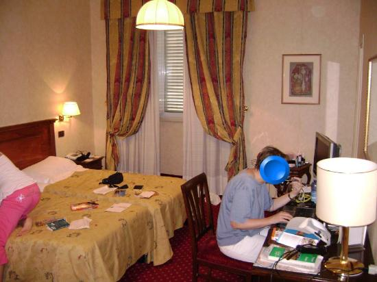 Hotel Nazionale : This is half of our room.