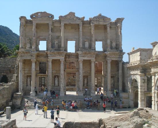 Sahin, Apartments : Efes - Library facade