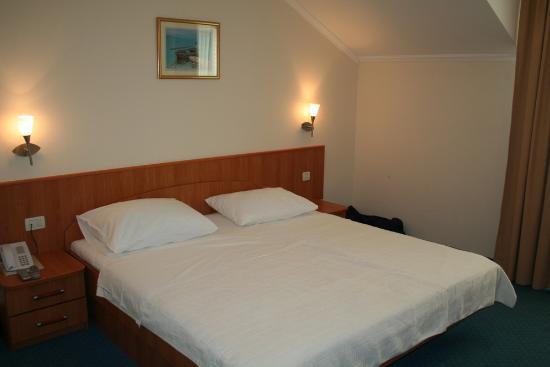 Hotel Perla: notre chambre