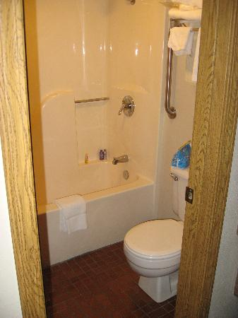 Bathroom - sinks are just outside