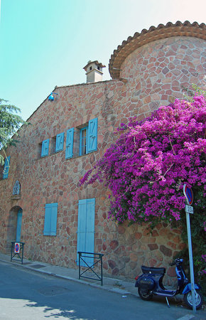 From the old town Grimaud