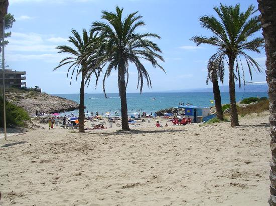 Hotel Best Cap Salou : Beach from hotel