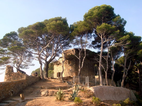Tossa de Mar, Spania: The peak of Cap de Tossa