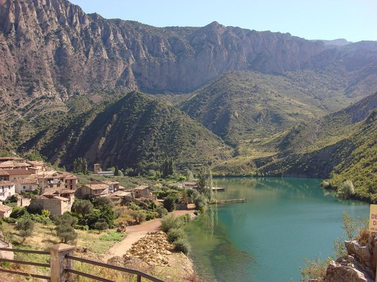 Catalonia, Spain: Tipical view at the Vall d' Aran
