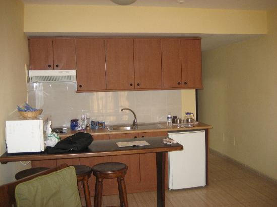 Santa Rosa: Interior de Bungalow ( cocina )