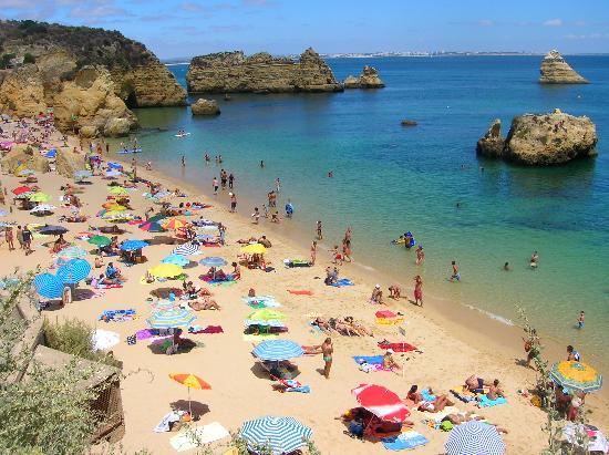 Лус, Португалия: la bellissima Praia de dona ana