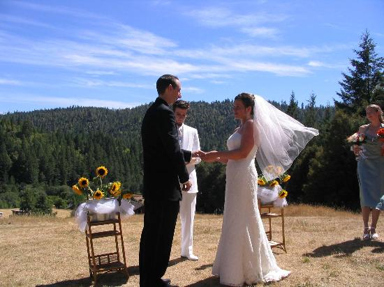 Shambhala Ranch - A Mendocino County Retreat Center : Wedding ceremony