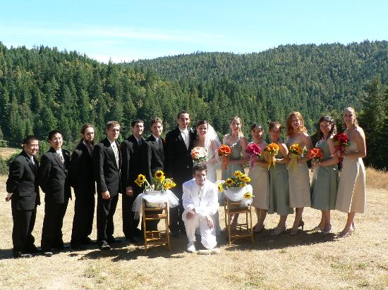 Shambhala Ranch - A Mendocino County Retreat Center: Wedding party