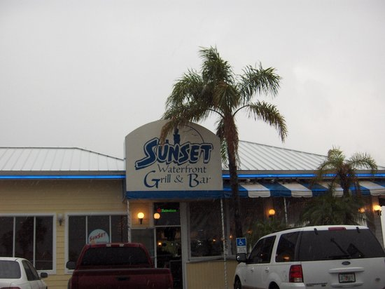 Sunset Waterfront Grill Bar Cocoa Beach Menu Prices
