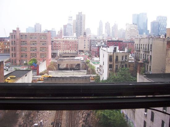 Travel Inn Hotel New York: Window view
