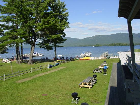 Golden Sands Resort on Lake George: View of the lake from our room